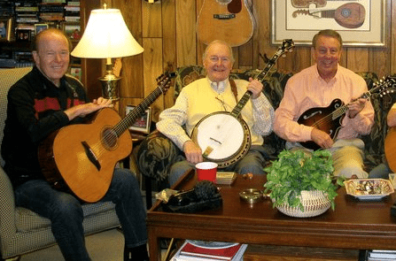 The Cumberland Trio - Left to Right: Jerre Haskew, Andy Garverick, & Tom Kilpatrick